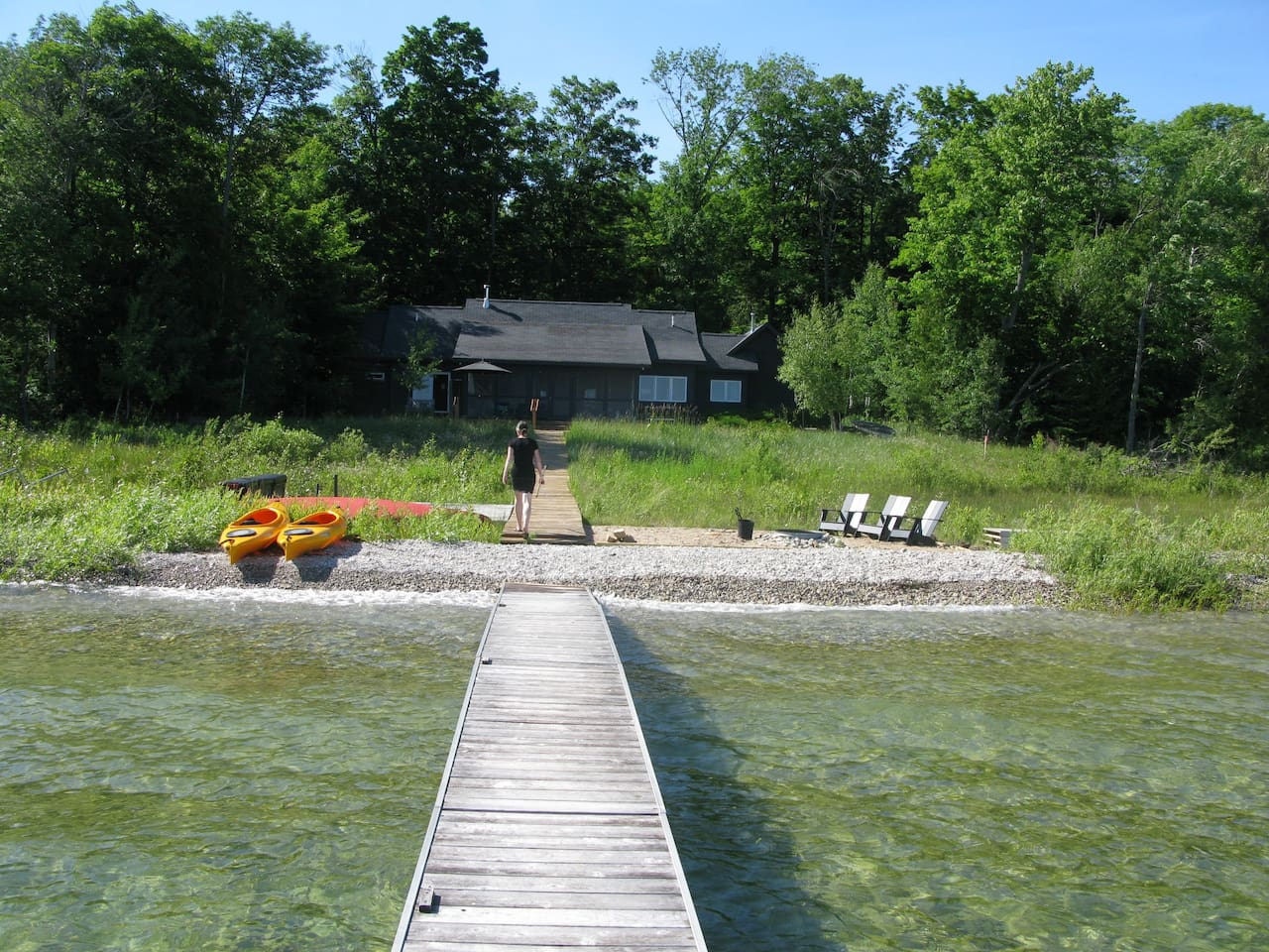Bayfront House and a Half, Northport MI - Houses for Rent in ...