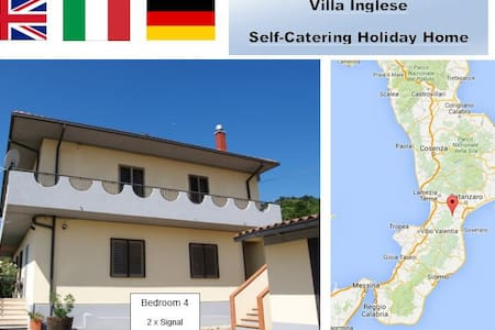 Mountain Location Quiet Retreat 4 plus beaches - San Luca - Villa