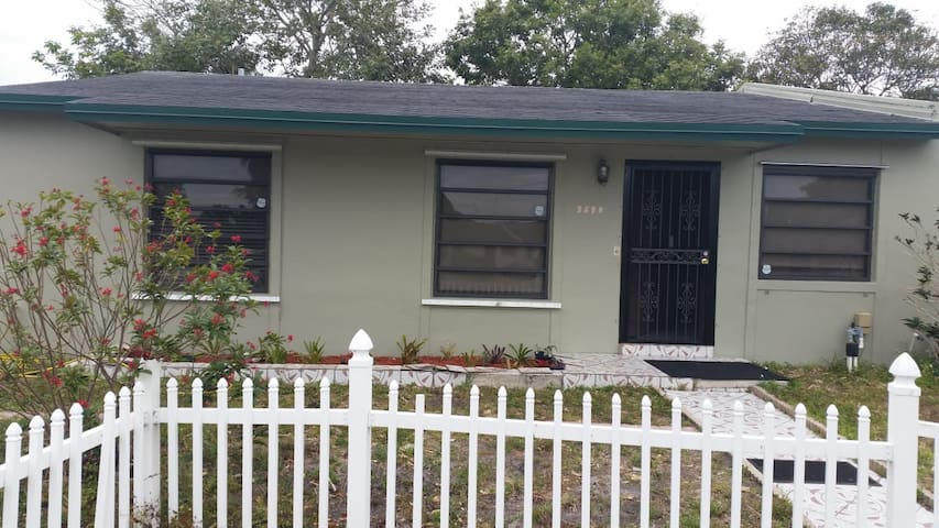Miami Gardens home with a view of Dolphin Stadium