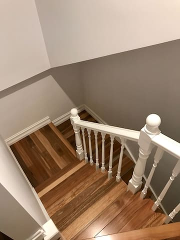 Stairs to Level 3 Guest Suite