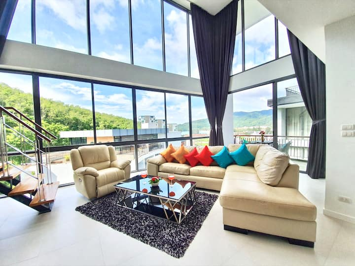 Amazing 2 Bedrooms Penthouse close to Kamala Beach