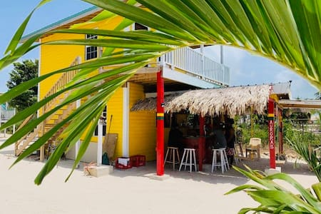 Secret Beach Yellow Cabana  *Beachfront  *Views