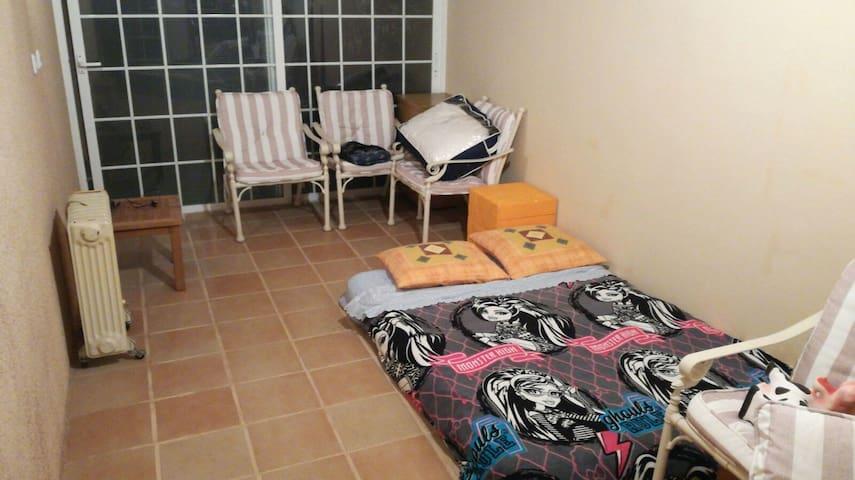 Habitación adosado con terraza ideal 2 personas
