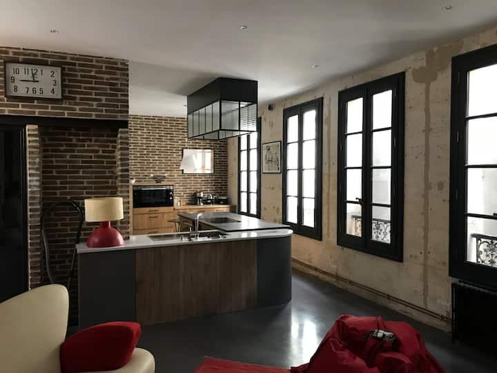 Appartement atypique hyper centre d'Angoulême