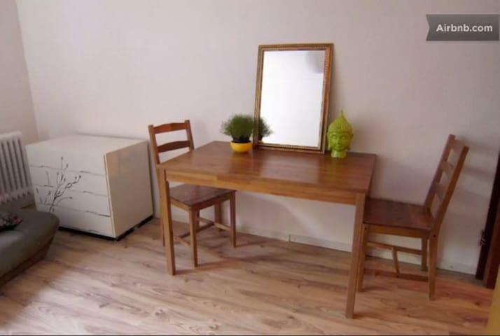 Studio Apartment central 20 min from Frankfurt HBF - Offenbach am Main - Apartment
