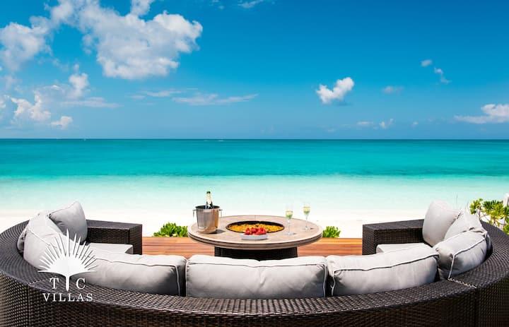 TC Villas // Conch Beach Villa - Grace Bay Beach
