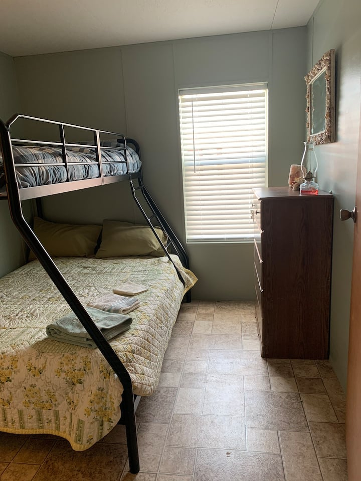 Double/single bunk bed near Lake Mac, Ogallala, NE