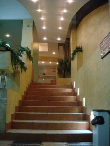 Entrada al Hotel de Tuxtla