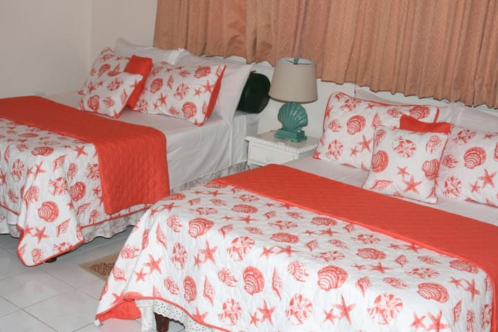 Twin Room with 2 Double Beds