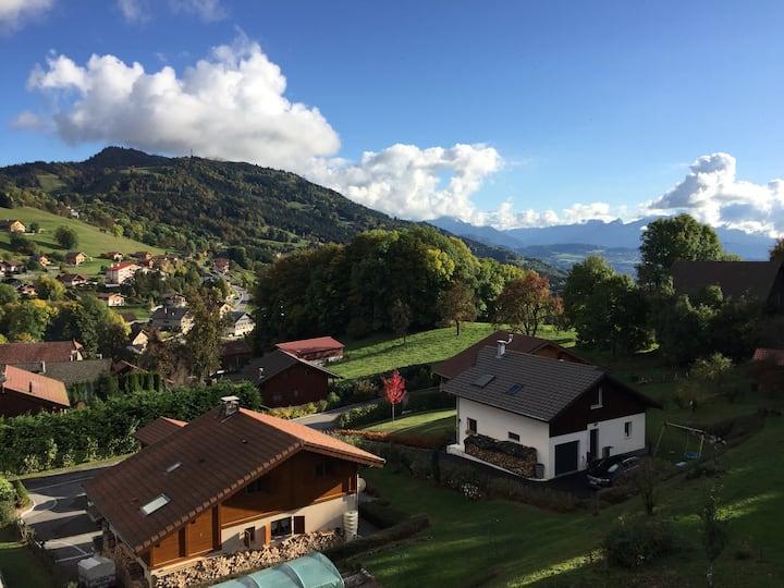 Appartement entre Alpes et Léman