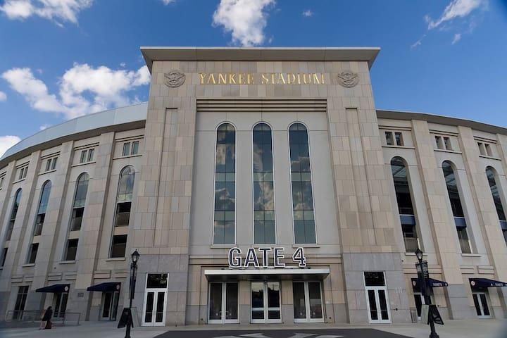 Spacious Apartment Steps Away from Yankee Stadium