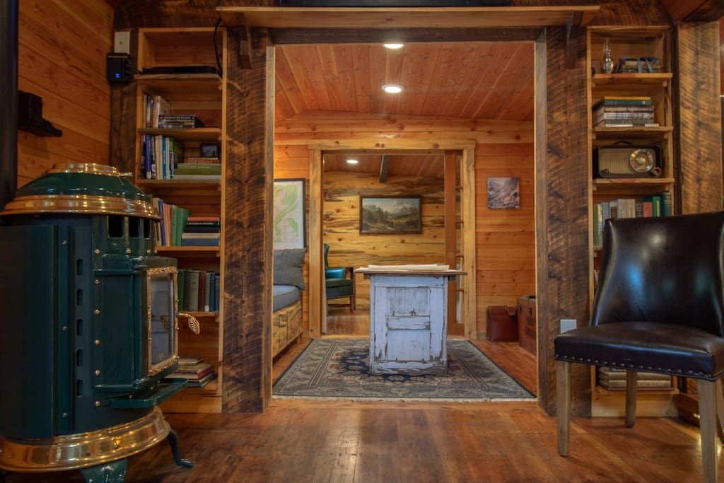 Exploration Cabin is a Historic Haven.