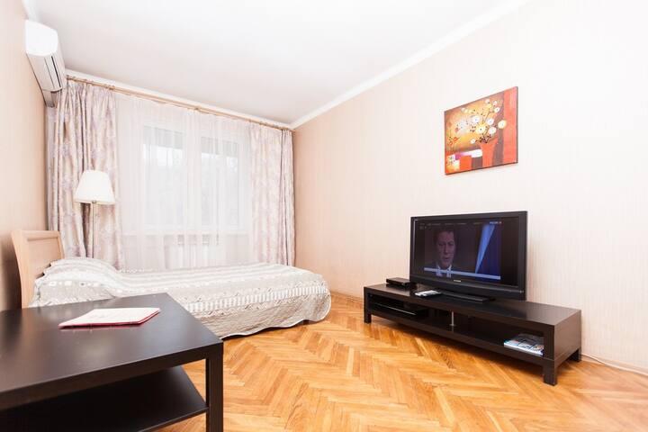 Душевный отдых в центре Москвы