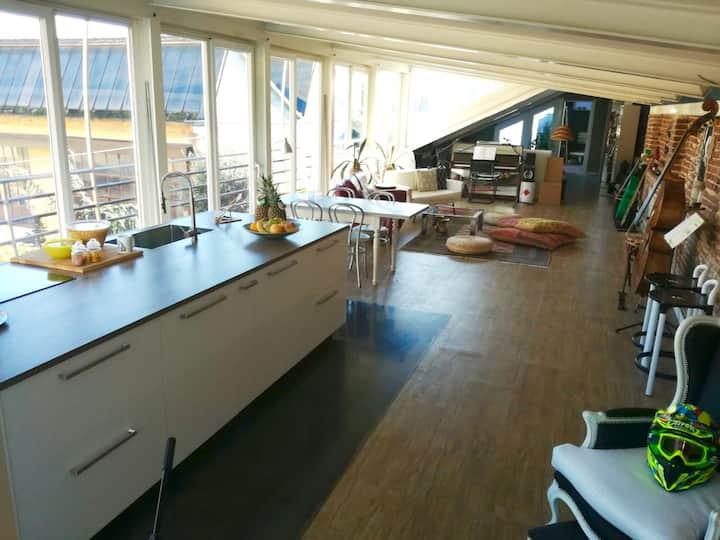 Sunny Loft in Milano Area
