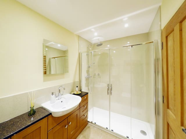 Ensuite large shower  in the Bothy