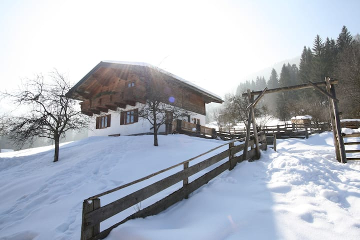 Charmantes Ferienhaus in Hüttau mit Barbecue
