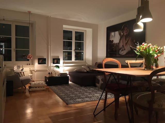 Charming flat in The old town - Luzern - Apartmen