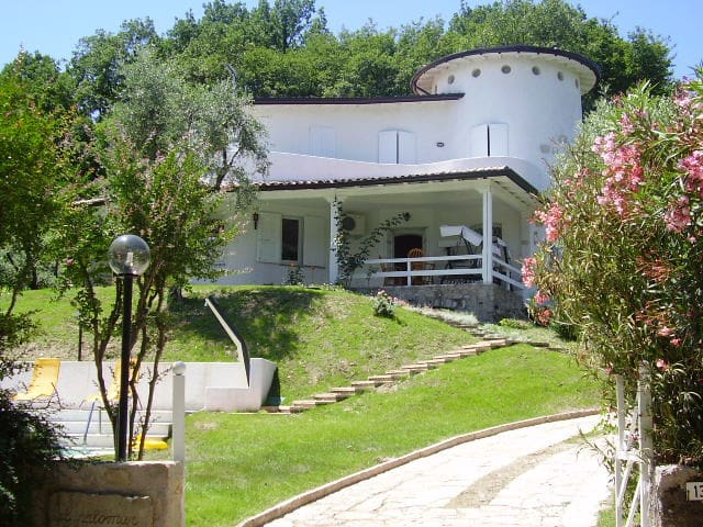 VILLA PALOMAR: POOL+A/C+LAKE VIEW - San felice del Benaco - Villa