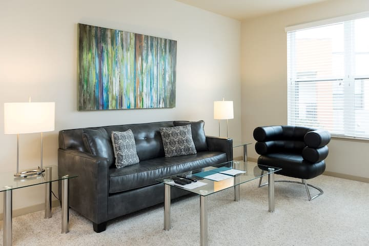 Lux Furnished 1Bedroom Apt in San Ramon, CA - San Ramon - Appartement