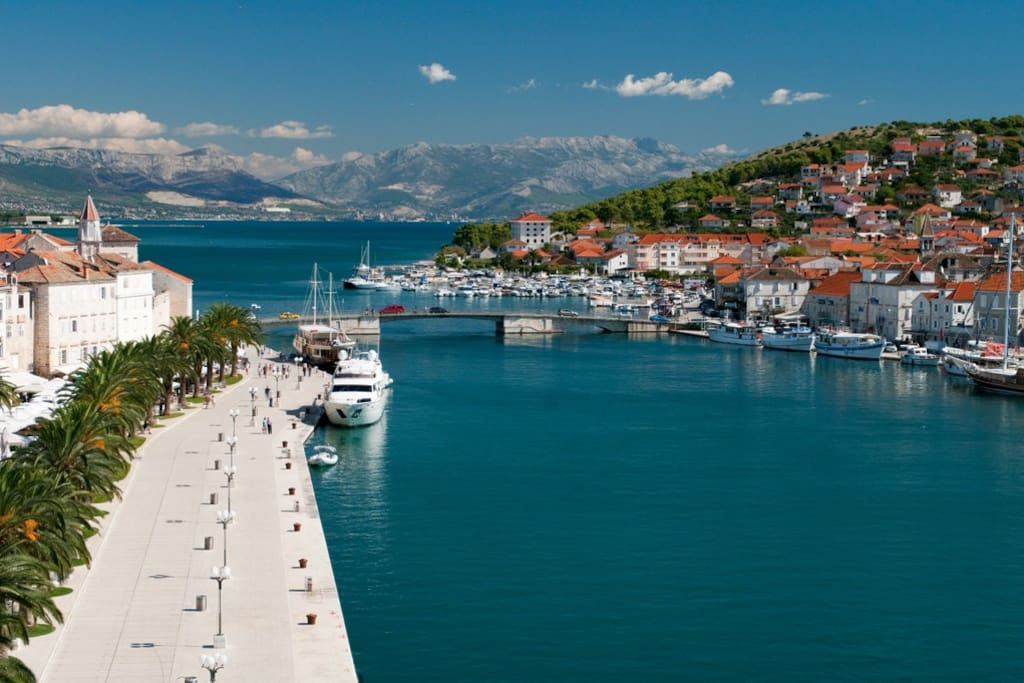 Beautiful City of Trogir, 15 minutes away.