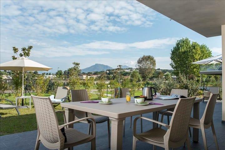 Maison 2 chambres 70m² avec jardin privatif