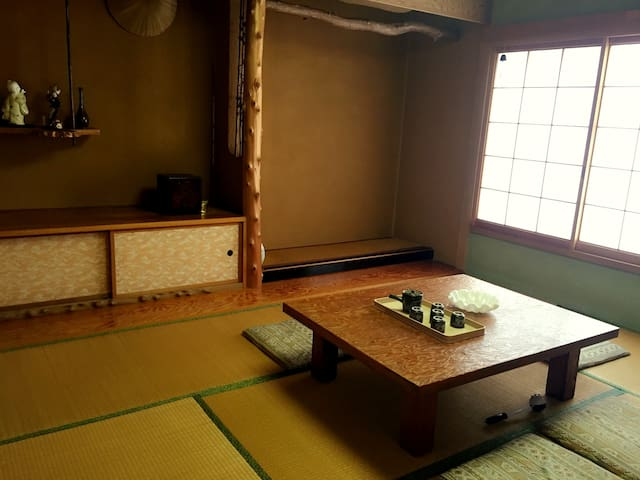 Great house ,Japaness style room - Otaru - House