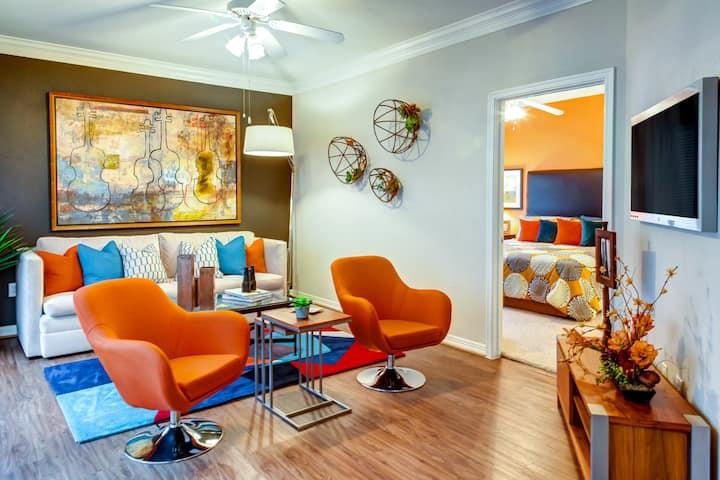 All-inclusive apartment home | 2BR in Houston