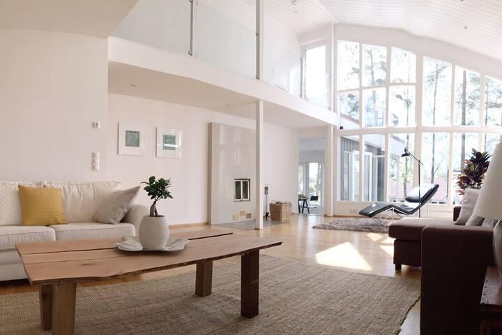 Upea Villa Kanerva, 320 m2 aktiivi- tai golflomaan