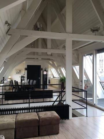 Duplex dakappartement centrum Antwerpen - Antwerpen