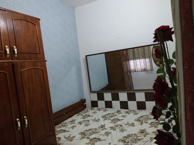 Quarto de casal com cama king sise externo. - Rio de Janeiro - Appartement