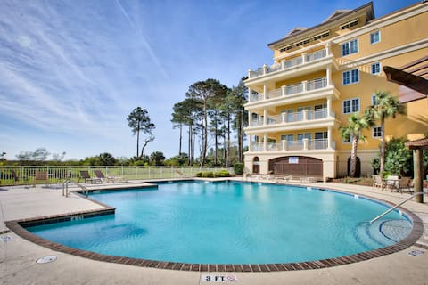 New! Penthouse Sea'Clusion Villa; Pool/Beach