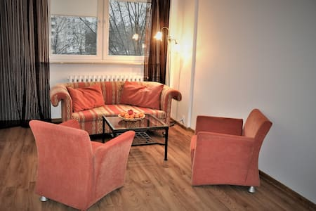 3 rooms apartment, 55 m,  3.8 km to Old Town - Varšava - Byt
