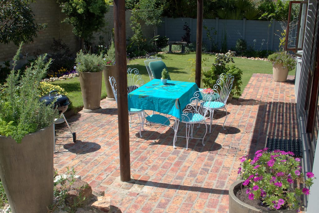 Enjoy a beautiful and private garden, plenty of outdoor seating and barbecue facilities.