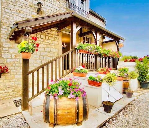 Ferienwohnung 1-6 Pers, Route des Grands Crus de Bourgogne