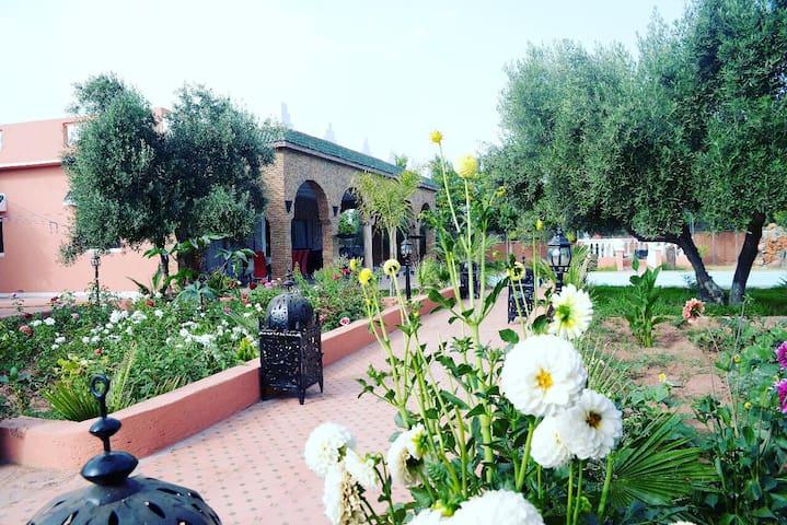 Auberge bio marrakech