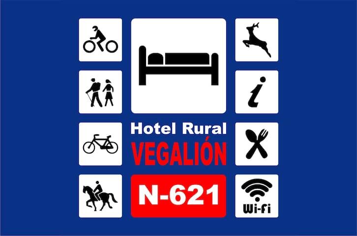 """Hotel Rural """"VEGALION"""""""