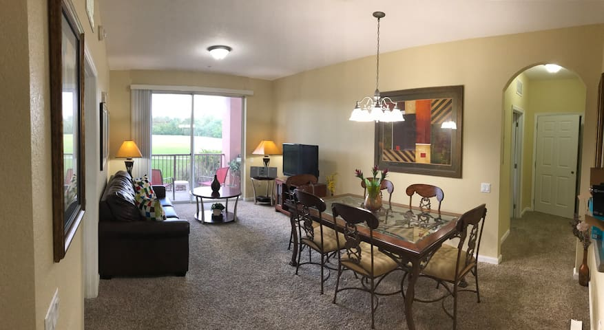 Cozy 2/2 apt. Center of orlando - Orlando - Appartement