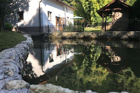 Rainbow Villa and Lake in pure nature
