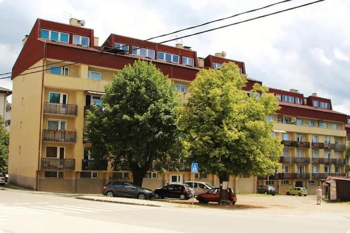Studio flat with balcony Slunj, Plitvice (AS-17382-a)