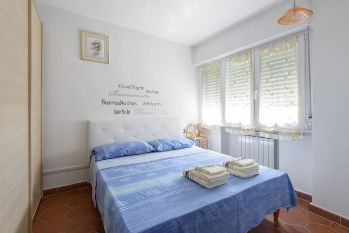 Lovely penthouse, 100 meters from the sea - Lido di Ostia - Apartament