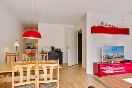Lys 3v lejlighed centralt fra det hele - Apartment