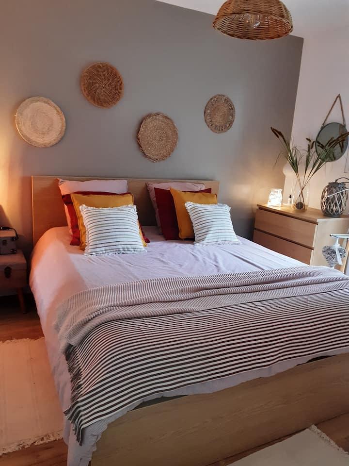 Appartement à 50m de la mer à St Brévin les pins