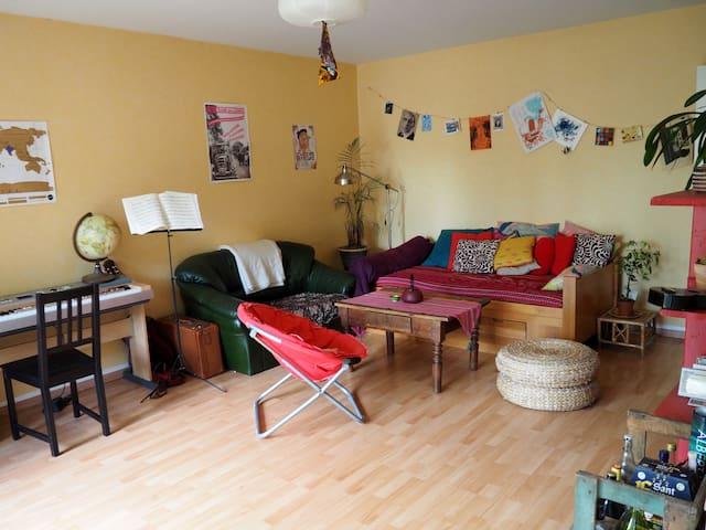 Appartement avec jardin centre-ville Rennes - Rennes - Flat
