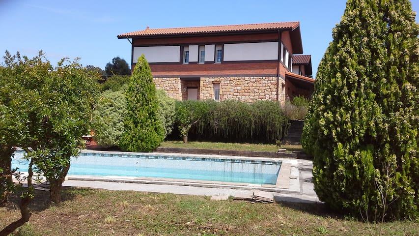 Casa amplia con vistas