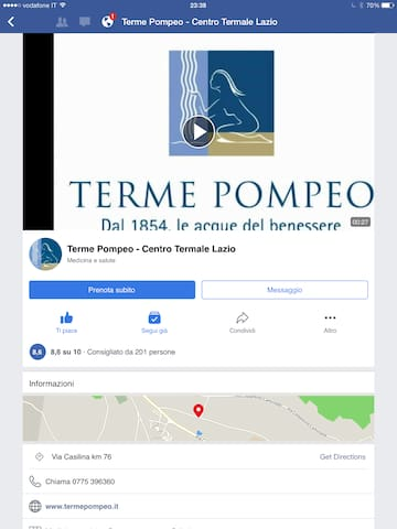 Terme Pompeo A long Lasting Tradition