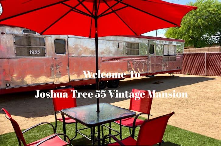 Joshua Tree 55 Vintage Mansion - 5min.To Nat.Park