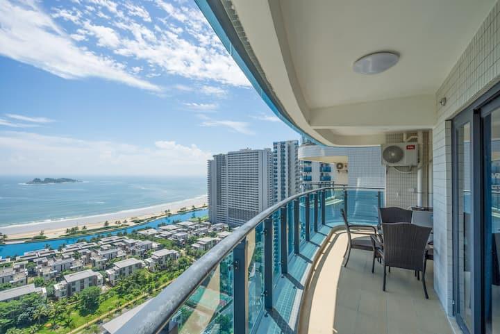 阳江市敏捷黄金海岸地中海风格三房两厅海景高层
