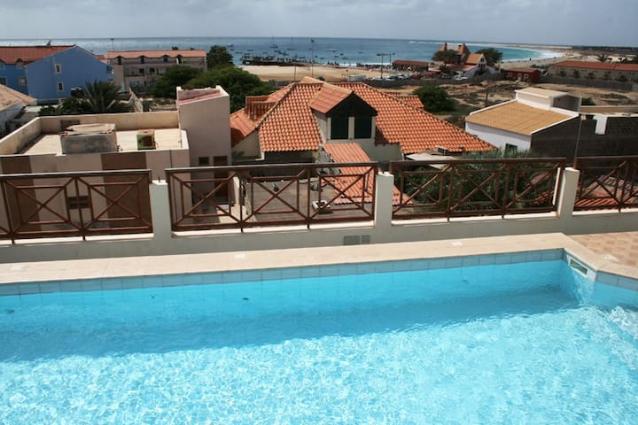 Large Penthouse central rooftopool - Santa Maria - Appartement