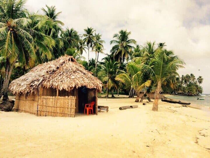 """San Blas Big Orange Island """"Narasgandub Dummad"""""""