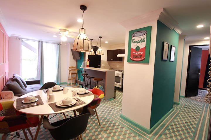 Apartment in the Zona Rosa, with 2 rooms
